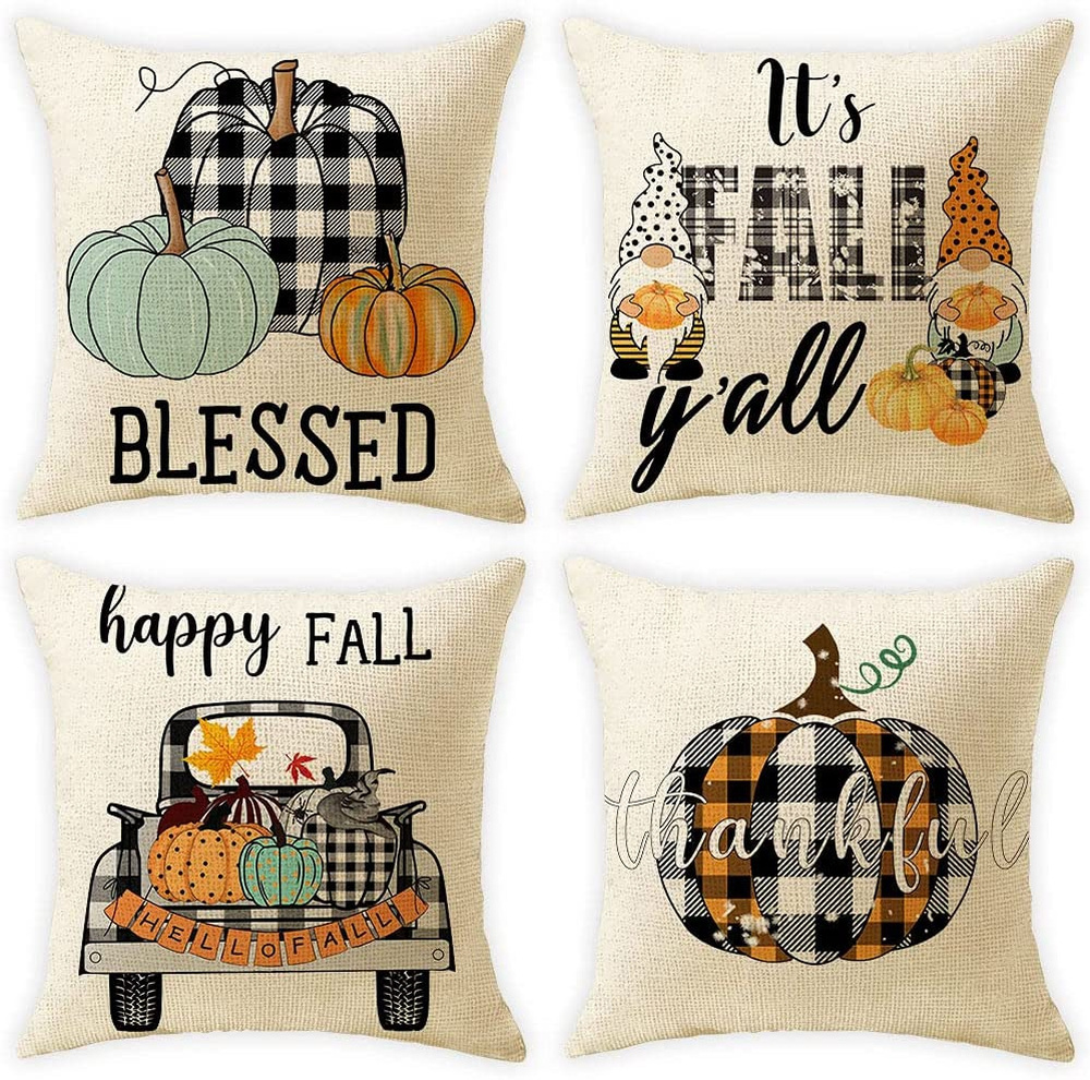 plaid-pillow with cash back rebate