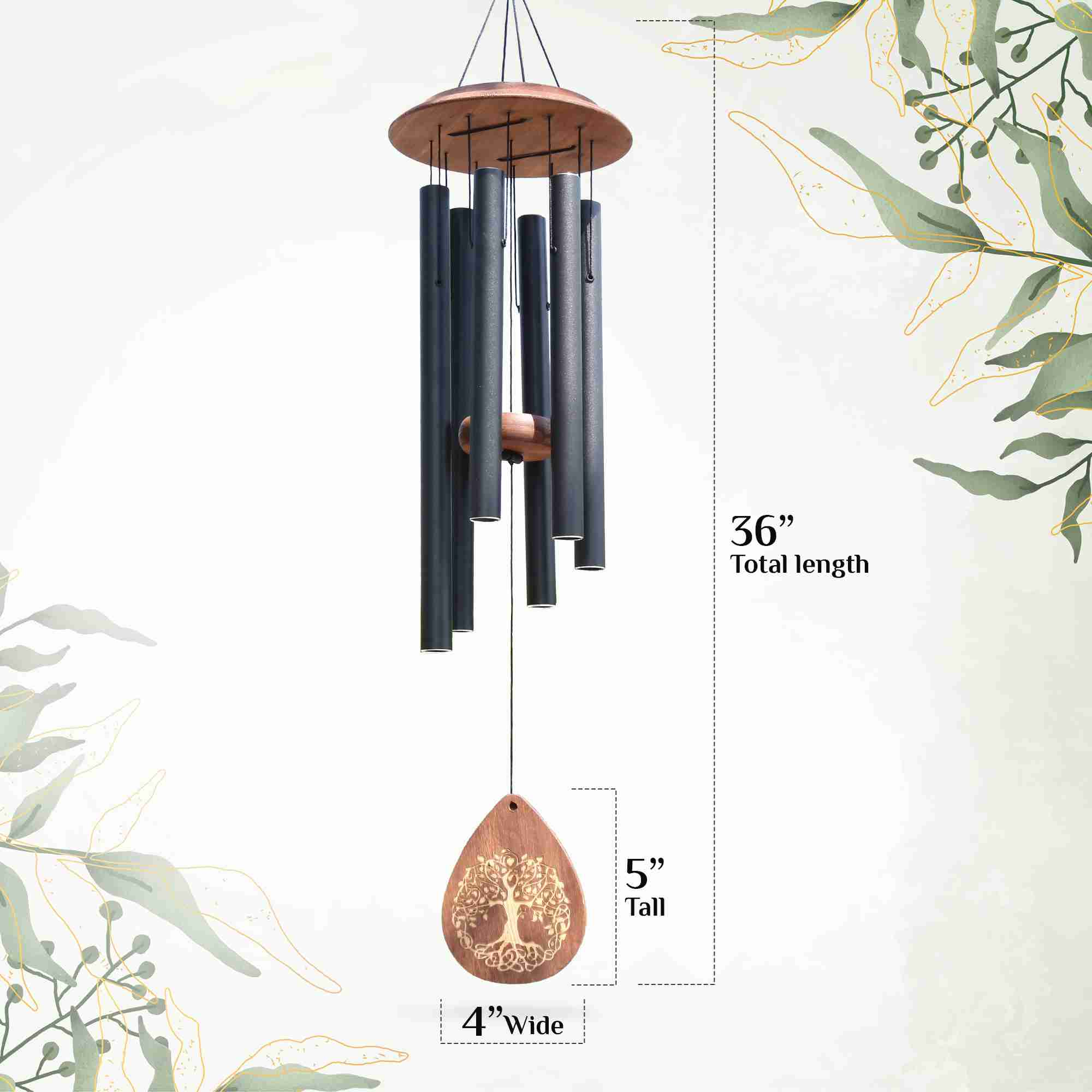 memorial-wind-chimes-sympathy-gift for cheap