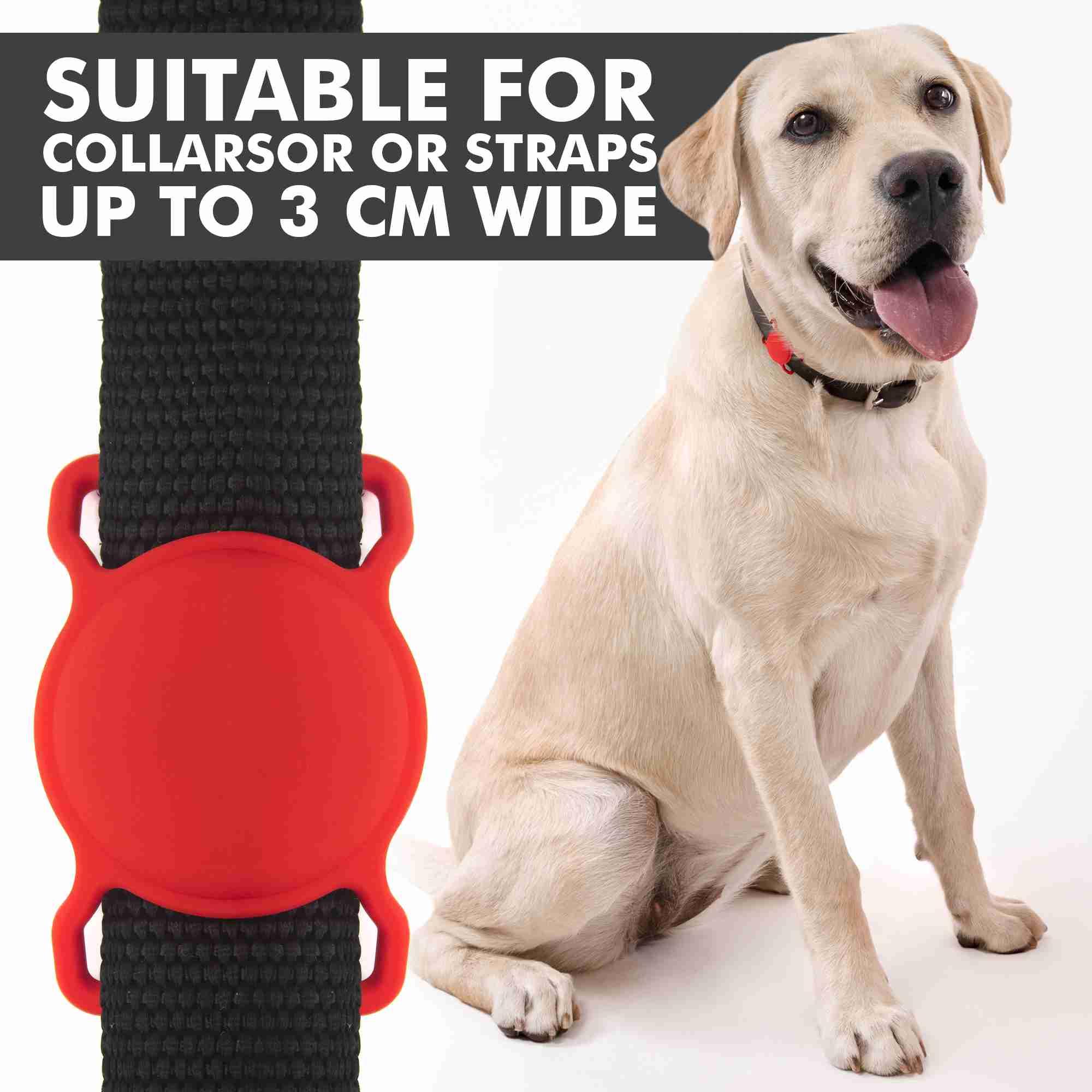 air-tag-dog-collar-holder-airtag-collar-case for cheap
