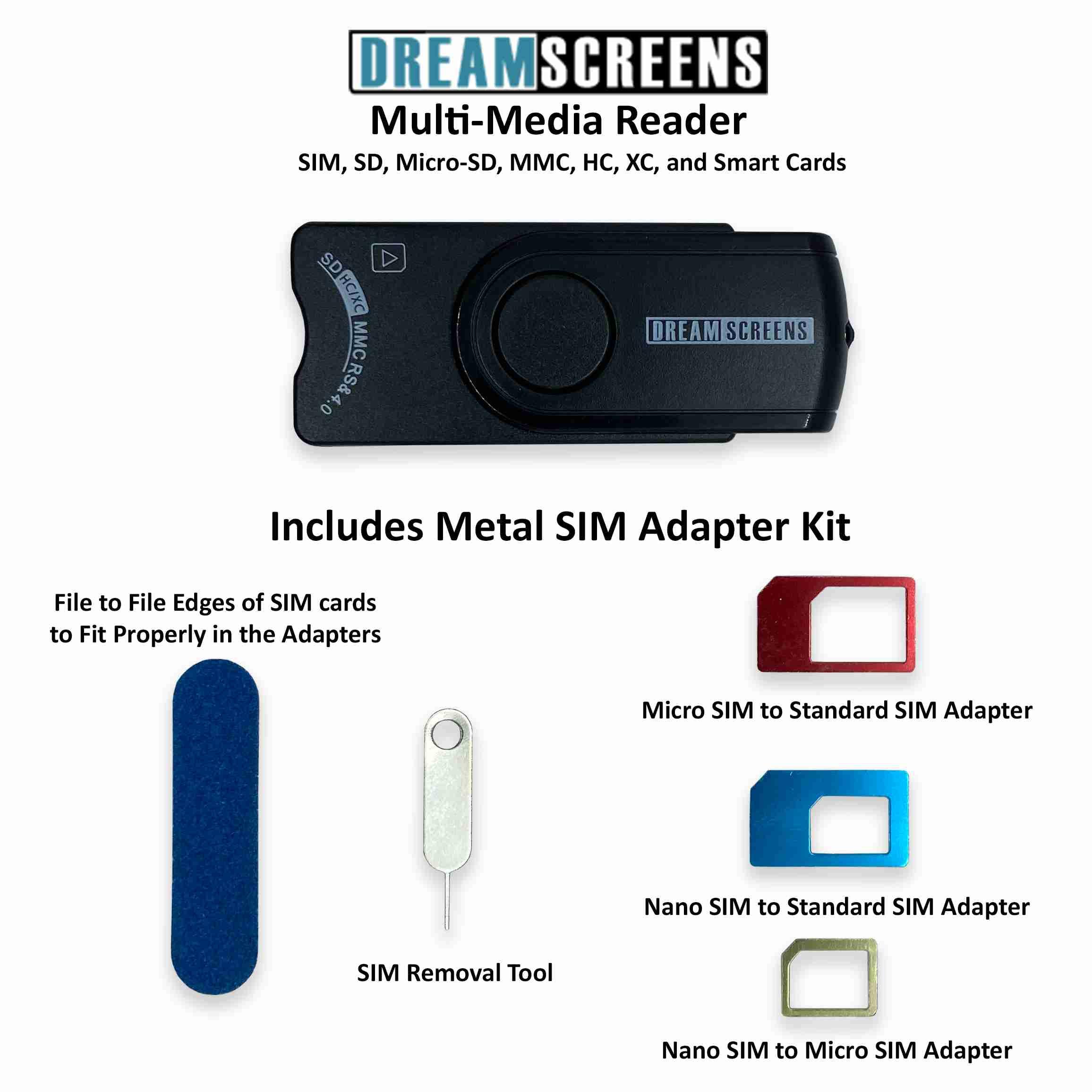 dreamscreens-sim-reader with discount code